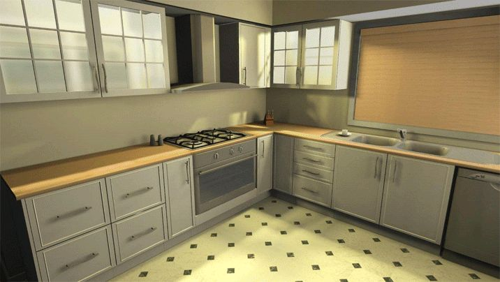 Your Dream Cooking Area With Simple Kitchen Design Tool