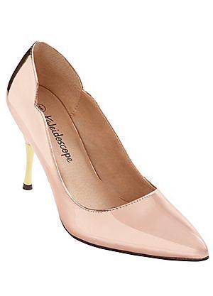 Metal Heel Court Shoes #kaleidoscope #occasionwear