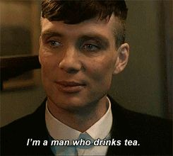 I would love to drink tea with him