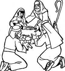 shepherds at manger MOPS crafts