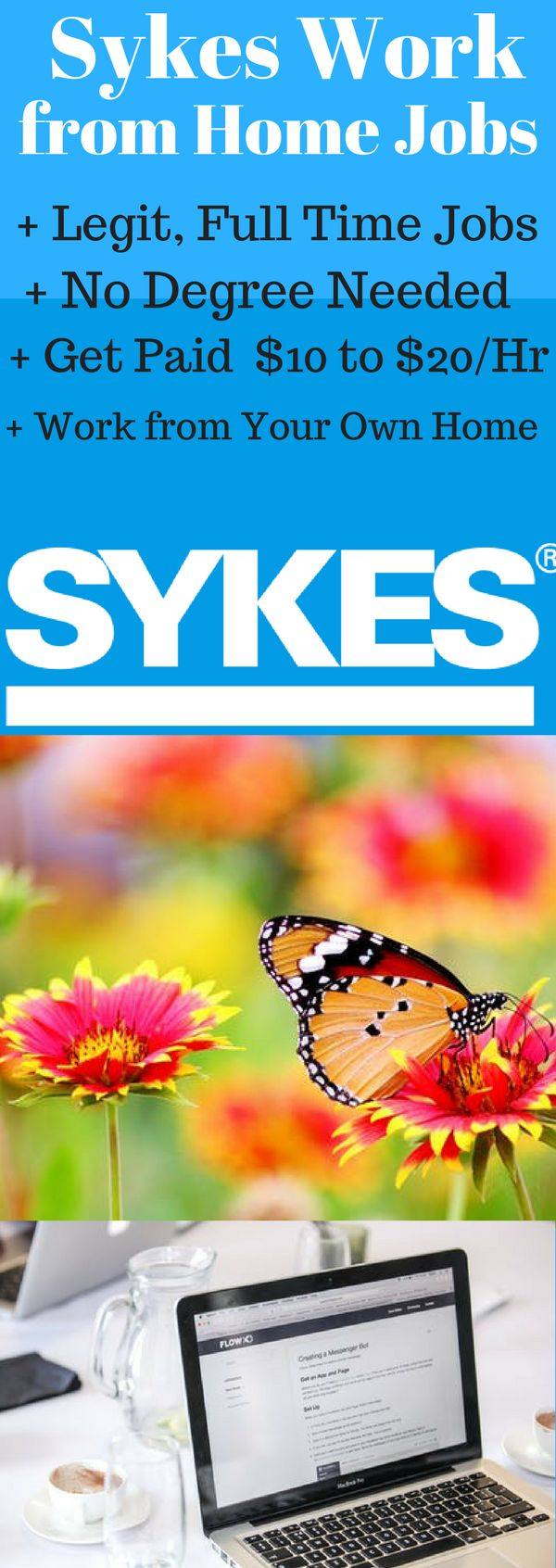 Work from Home Jobs. Sykes Work at Home Jobs. Looking for Sykes Work from Home Jobs? Get the latest Work from Home Jobs from Sykes Enterprises. Sykes Work at Home Customer Service Representative Jobs offer very good opportunity for stay at home moms to work from home and make extra money online. Apply for Sykes Work at Home Jobs today from https://www.howwemakemoneyonline.com/sykes-work-from-home-customer-services-representatives/  #workfromhome #workathome  #sykesworkathomejobs…