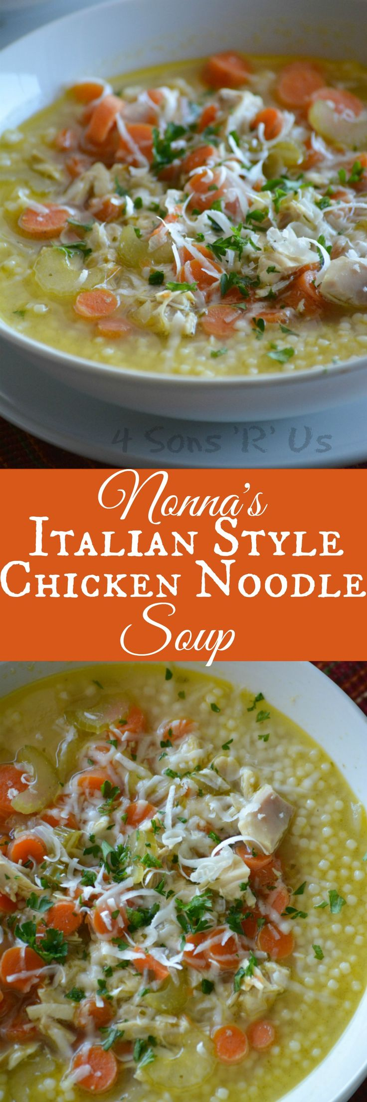 A quick and easy soup, you'll be surprised by the rich flavor in such a simple recipe. Nonna's Italian Style Chicken Noodle Soup tastes like Grandma slaved away at the stove all day stirring the love into every last drop. I am assuming by now we've all seen the Campbell's[Read more]