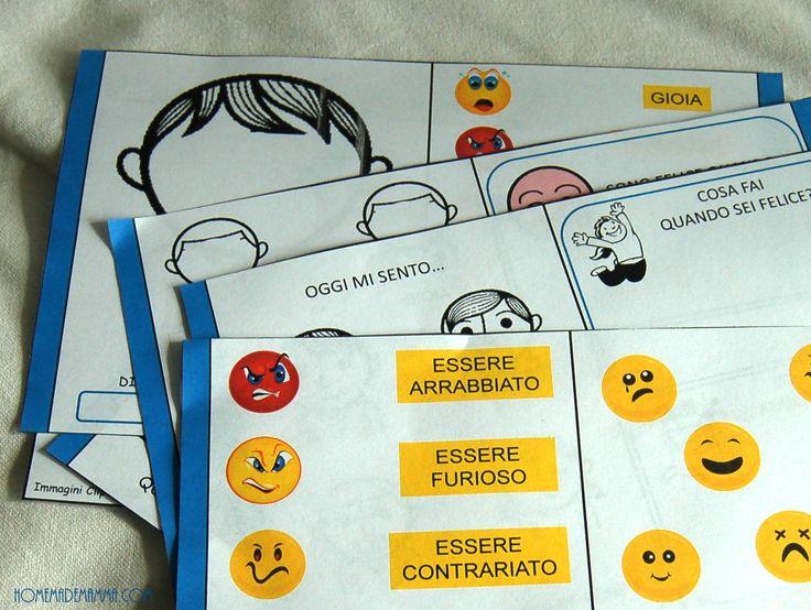 libro gioco sulle emozioni da stampare gratis