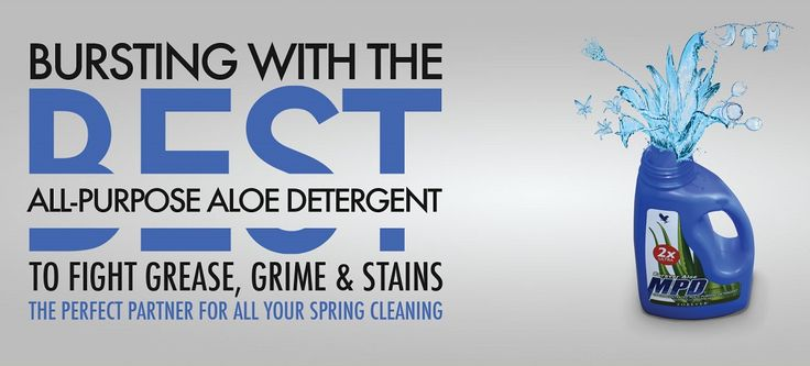 MPD, great for cutting grease and removing stains.