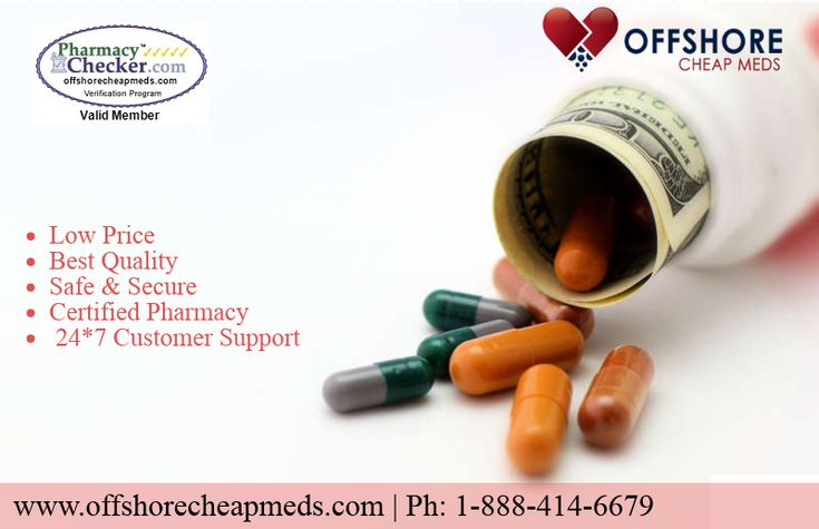 Save upto 80% on drugs from Offshore Cheap meds (www.offshorecheaomeds.com )