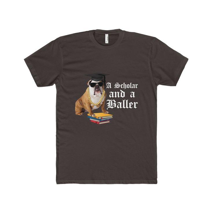 A Scholar and a Baller Bulldog (Men)