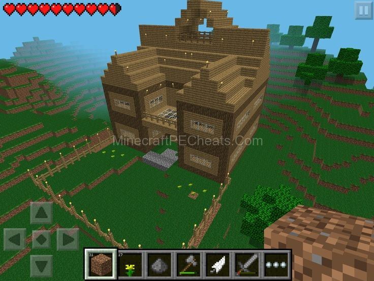 How To Build A Cool House On Minecraft Pe Survival