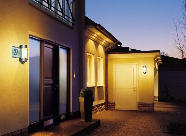 House Number Automatic Wall Light L This light can be installed outside  your house for protecting your house from