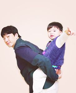 Manse with appa | The Return of Superman