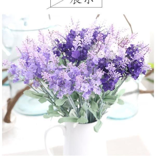13 Lavender Flower Purple Wedding Centerpieces Purple Centerpieces Light Purple Wedding