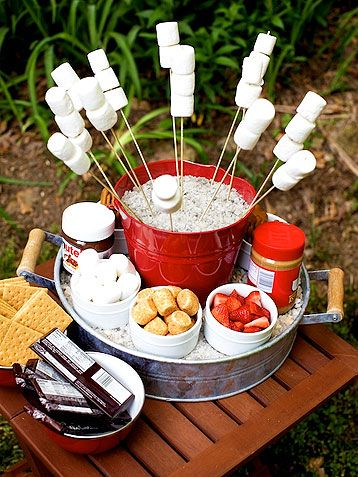 Of course making these delicious S'mores needs to be on your summer bucket list!