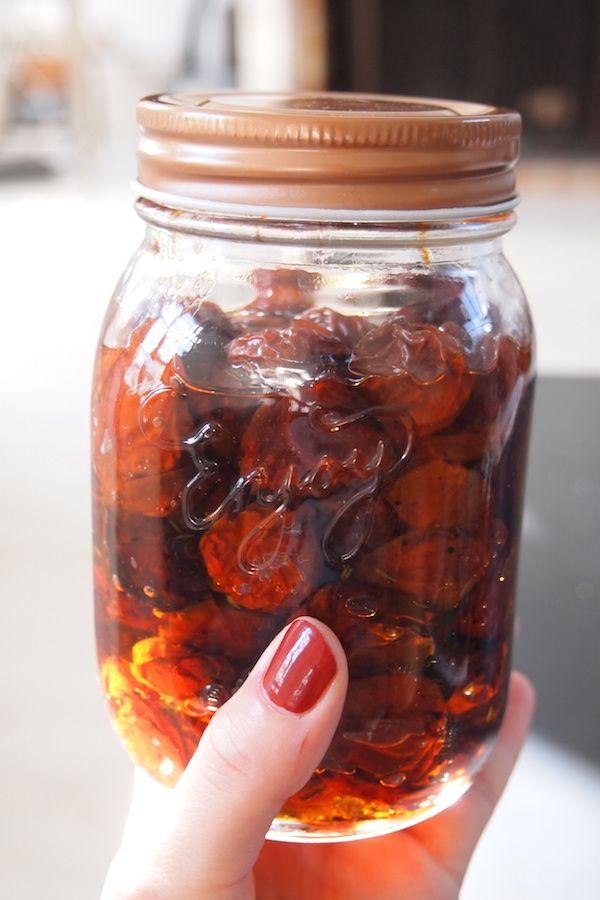 Tomates confites maison (facile)