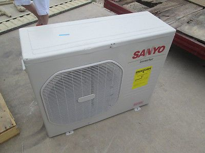 NEW SANYO 24,200 BTU Ductless Air Conditioner Inverter Outdoor Unit, Damaged x