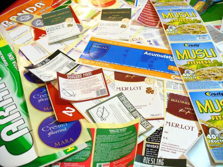 Etichete Autoadezive imprimate in Coala