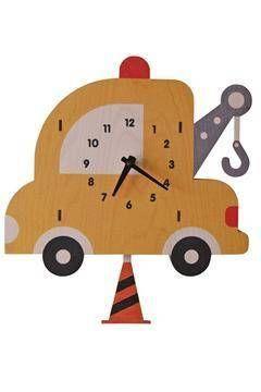 Towtruck Pendulum Clock