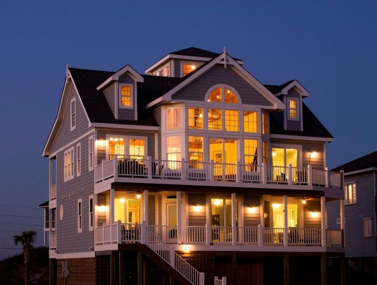 North Topsail Beach Vacation Al Vrbo 107933 7 Br Island House In Nc