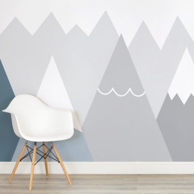 kids-blue-and-grey-mountains-nursery-square-wall-mural