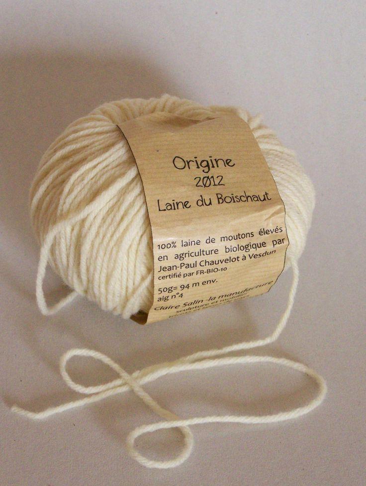 Fils à tricoter - Atelier Claire Salin