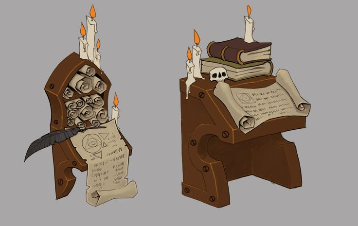 Zeraphit Vault Scroll Tables, Torchlight 2 - Mike Franchina - http://aphinc.blogspot.in/