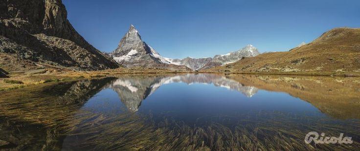 #Switzerland #Matterhorn #Lake #Alps #Ricola