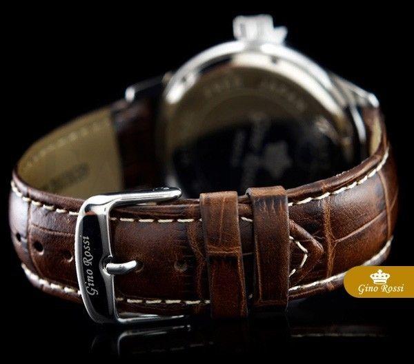 Pánské hodinky - Gino Rossi, Bunt, hnědé