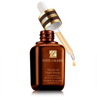 Advanced Night Repair from Estee Lauder.  No matter your age every woman should have this in her arsenal. It helps to repair the skin while you sleep and un-do the days damage. Fine lines and wrinkles are softened, and the skin is refined for a more even texture.