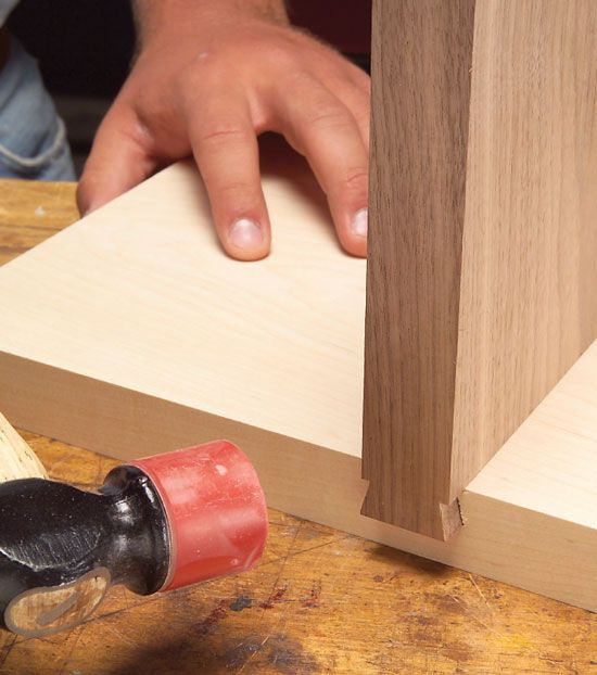 Tapered Sliding Dovetails (AW) - Popular Woodworking Magazine