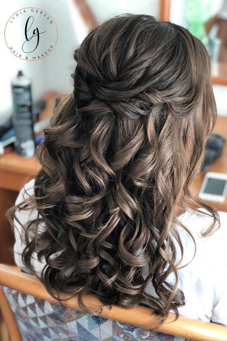 Pin auf Hochzeit - Brautfrisur und Make-Up