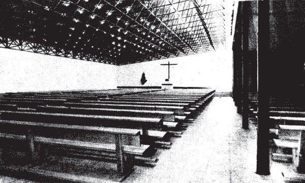Universidade laboral Crucero Baleares | José López Zanón e Luis Laorga Gutiérrez | Culleredo (1963)