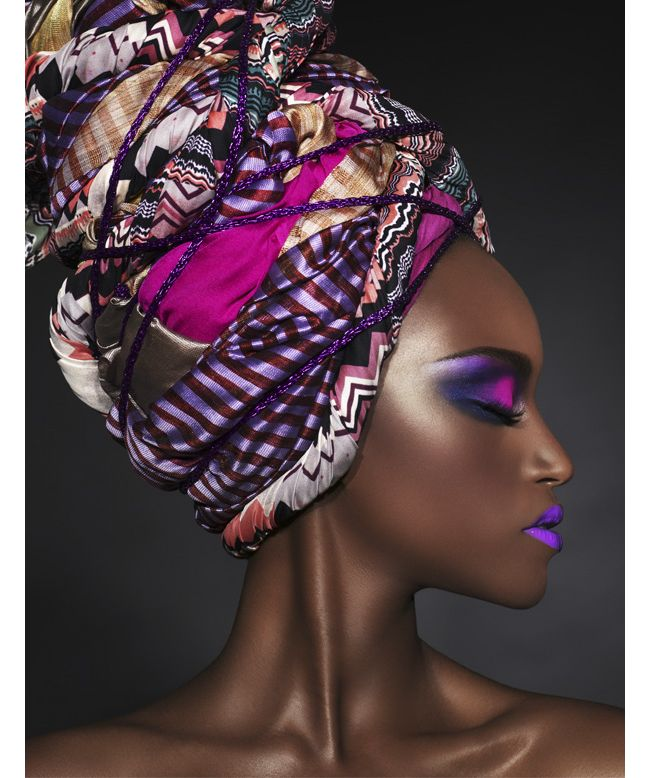Tendance turban et couleurs pour la nouvelle campagne Black Up