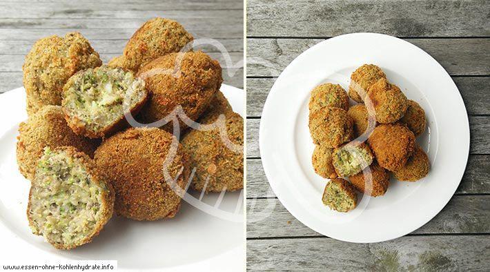 Low-Carb Brokkoli-Cheese-Bällchen