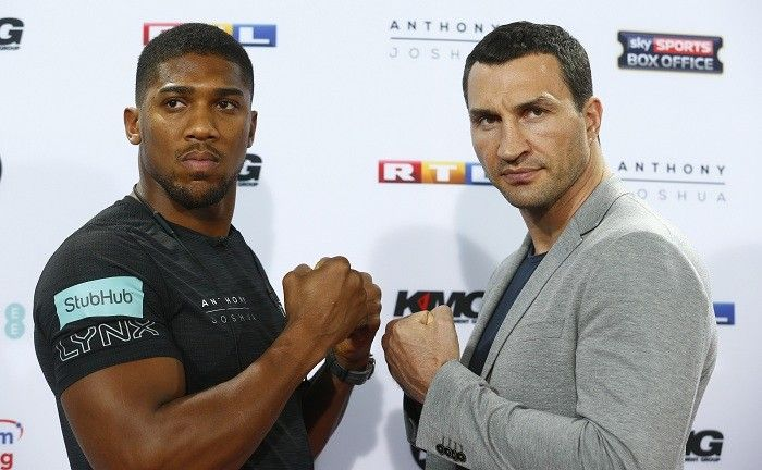 George Foreman fancies Anthony Joshua ahead of Wladimir Klitschko fight as the Ukrainian says cross-fit is not boxing