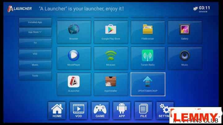 Anmax IPTV box(Anmax X9Pro/X10) software update and guide