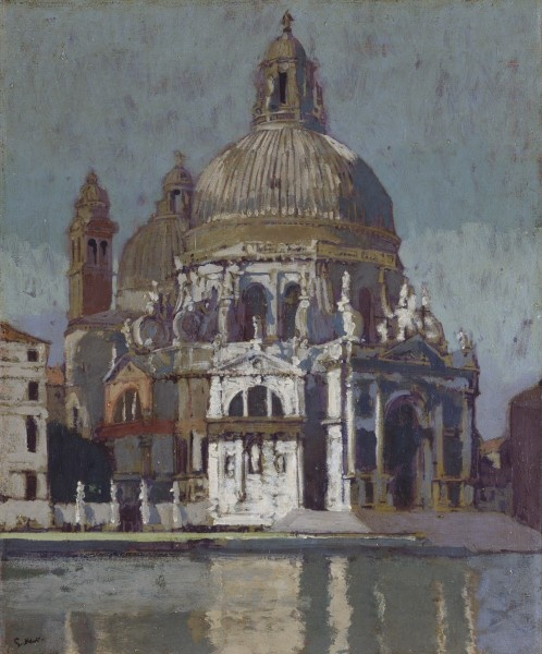 Walter Sickert's 'Church Of The Maddalena, Venice'