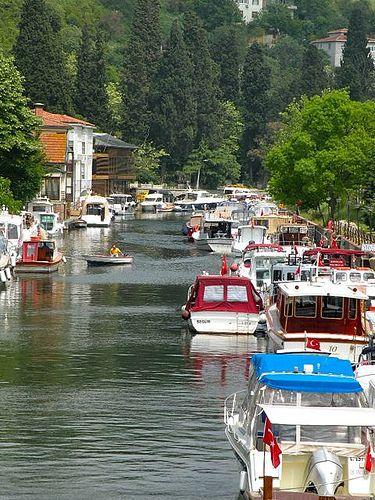 Göksu Creek, Küçüksu, Istanbul, Turkey