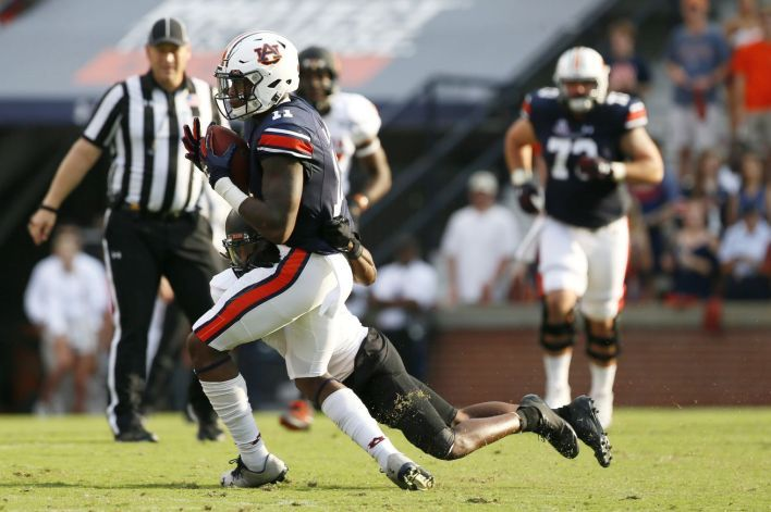 Auburns had beaten Mercer 506-12 all-time but only won by 14 this year