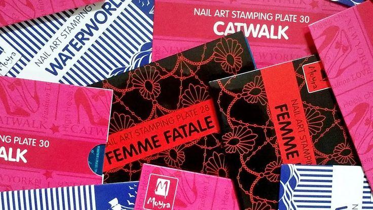 Nail Stamping - Moyra Stamping Plates No. 28-30