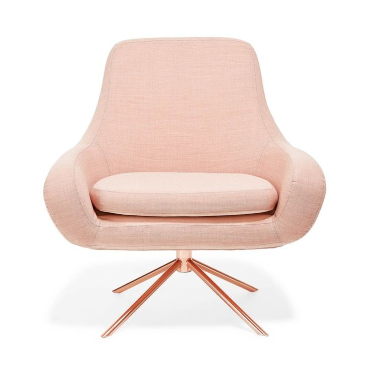 rose gold chair the nest pinterest best computer chairs best