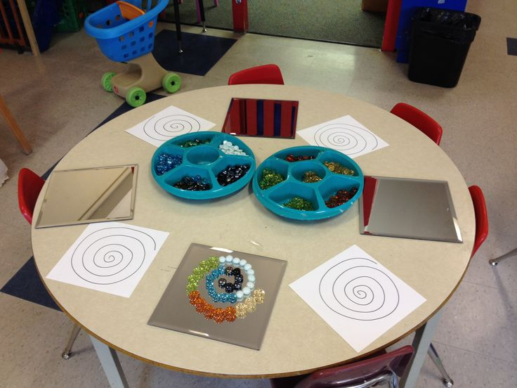 Spirals and loose parts