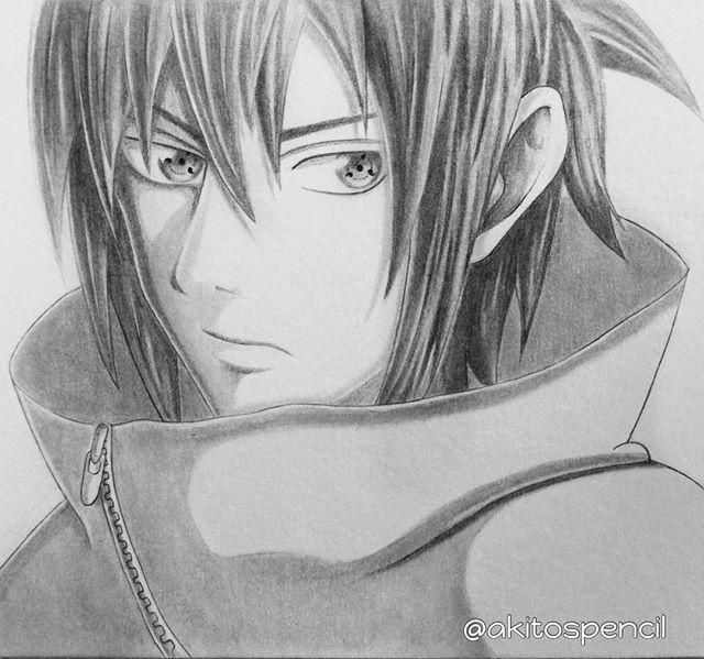 Finished Sasuke Uchiha, my top notch shinobi  I still remember how I adored him and I still do now  #sasuke #sasukeuchiha #naruto #narutoshippuden #minatowashere © Referenced