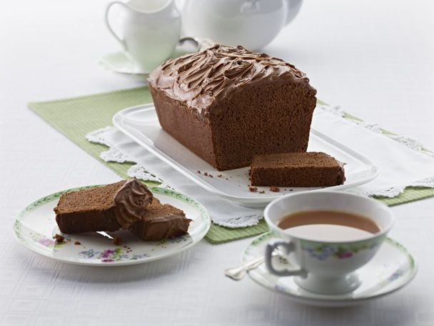 This is about the sweetest, most chocolatey kind of loaf there is. Perfect for afternoon tea or the lunchbox, this #loaf keeps well too! #chocolate #slice #Cadbury #Bournville #Cocoa To view the product featured in this recipe visit http://www.cadburykitchen.com.au/products/view/bournville-cocoa/