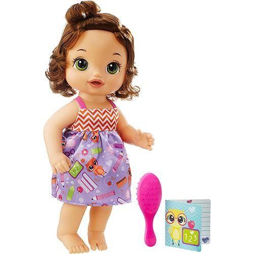 Boneca Baby Alive Escolinha Morena - Hasbro