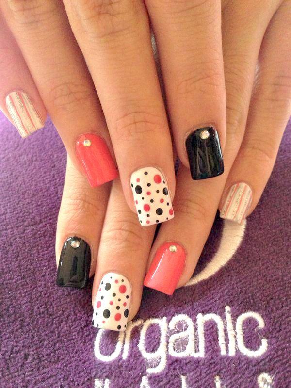 mis hermosas uñas <3 organic nails