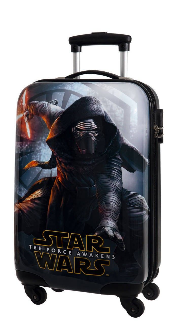 Maleta cabina modelo force awakens de Star wars, una maleta que hará que la fuerza te acompañe en todos tus viajes