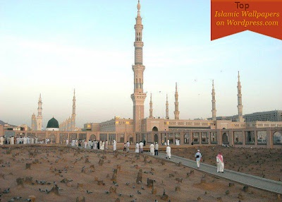 Islamic Wallpapers: Masjid Nabawi Beautiful Islamic Wallpaper