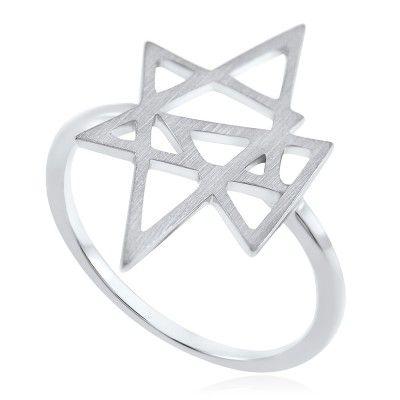 Atria Ring in Sterling Silver - GITTE SOEE Jewellery - Shop Online www.gittesoee.com