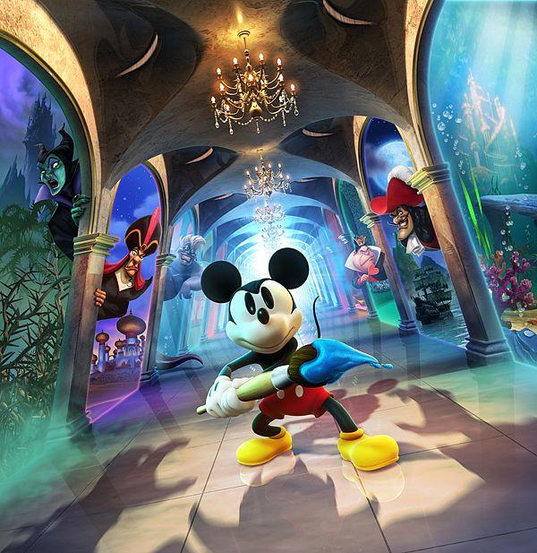Epic Mickey 2 by Albert Co http://www.inspirefirst.com/2013/06/18/epic-mickey-2-albert/