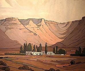 Pierneef's version of Ouma se huis