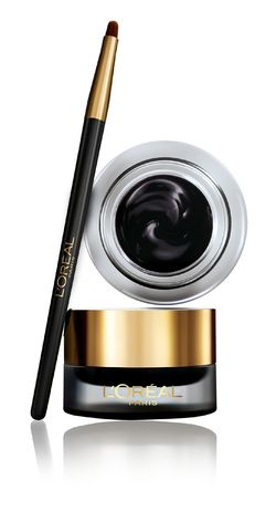 Apparently the BEST eyeliner of all time... Hmmm L'Oreal Paris Infallible Lacquer 24H Gel Liner $12.99