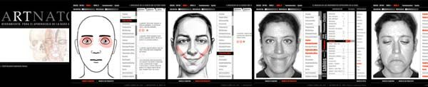 Facial muscles, structure, expressions, free version at http://www.artnatomia.net/uk/artnatomiaIng.html